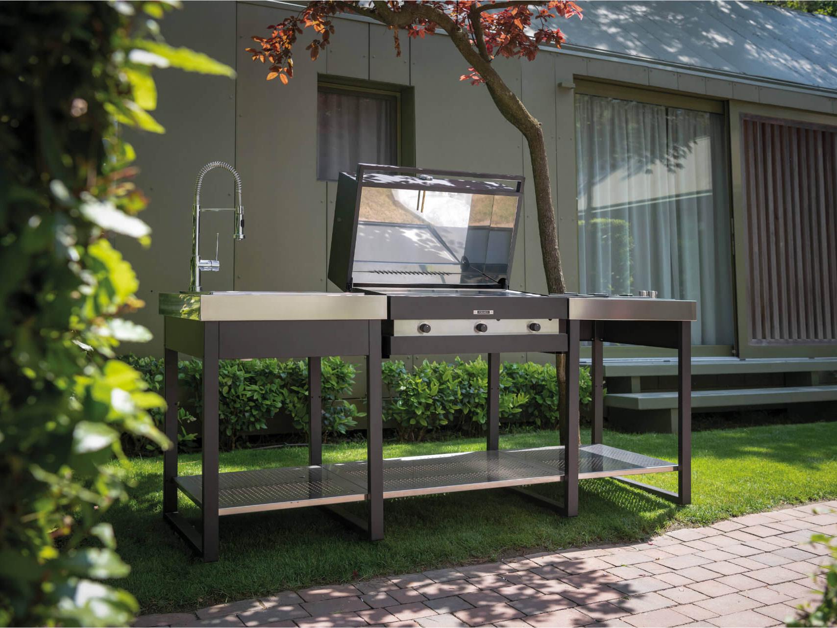 Foghèr / cucine da esterno / Outdoor diciannove Rimini / esterni da vivere